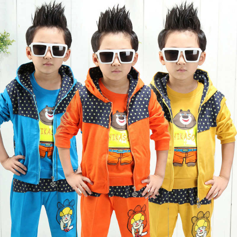3 Pieces 2018 Boys Clothing Sets Autumn Spring Shirt Vest Sport Suit Children Toddler Baby Kids Boys Clothes Sets Cartoon Long lzh toddler boys clothing 2017 autumn winter baby boys clothes sets gentleman t shirt pants kids boy sport suit children clothes