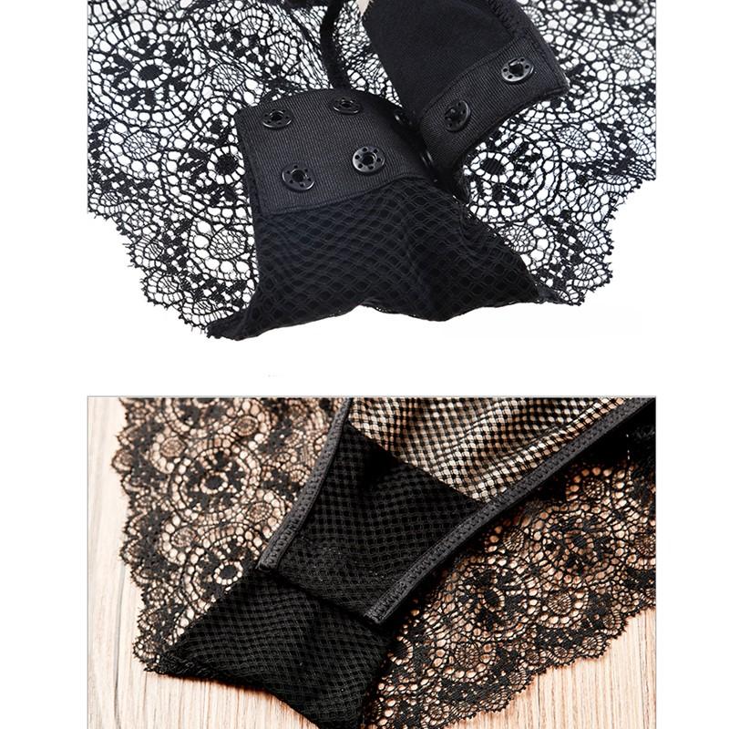 Varsbaby-Sexy-lace-thin-waist-shaper-transparent-wire-free-pajamas-women-underwear- (5)