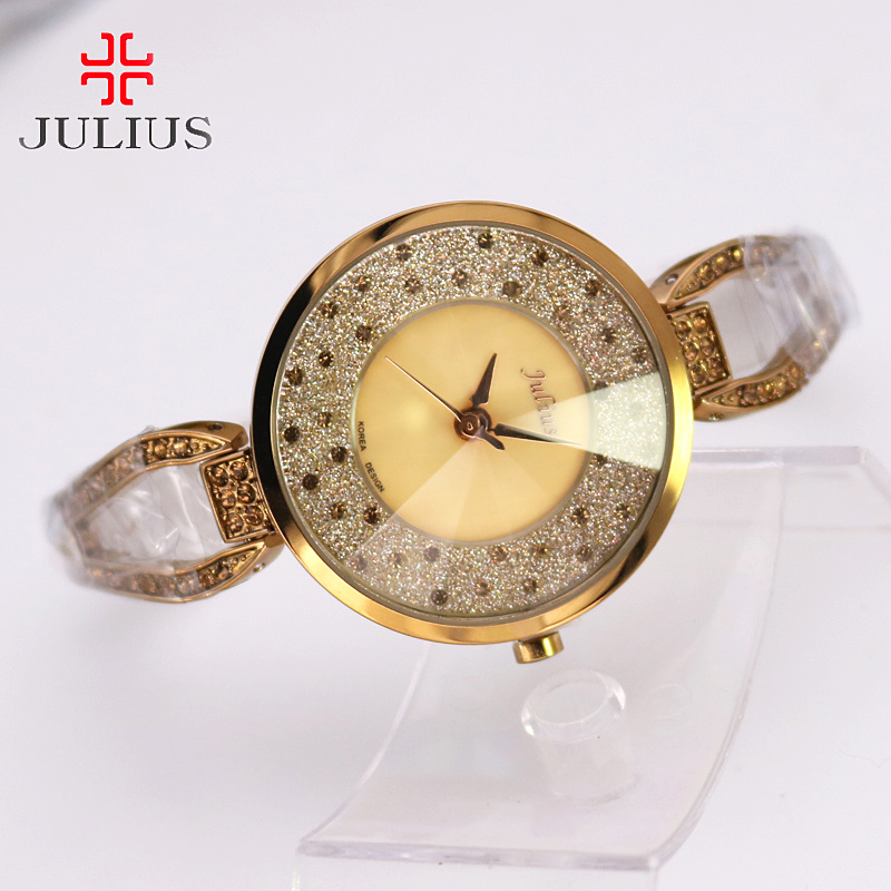 Crystal Rhinestone Shell Lady Women's Watch Japan Quartz Hours Clock - Women's Watches - Photo 4