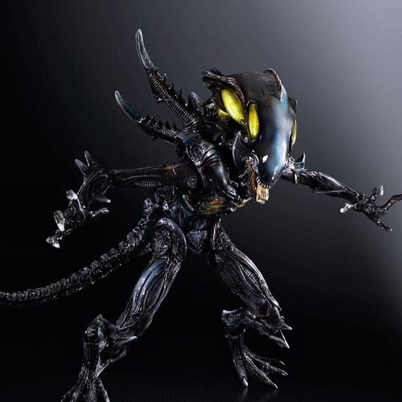 2 SPITTER IN BOX ACTION FIGURE NO ALIENS// FIGURA COLONIAL MARINES 24 CM