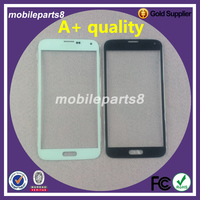 10pcs/lot A+ quality S5 G900 Digitizer Glass for samsung galaxy s5 g900 Front Screen Outer Glass Replacement free shipping