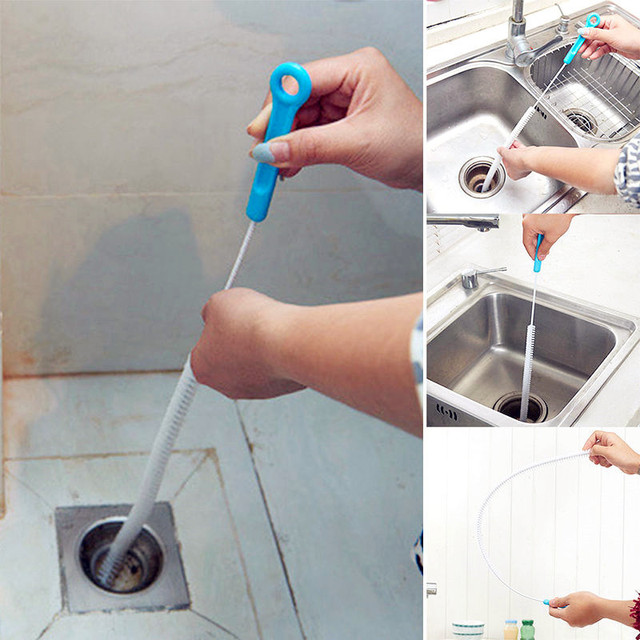 1 pz Nuovo di alta qualità Pulitore di Scarico Bagno Wc Dei Capelli tubo di Fogn