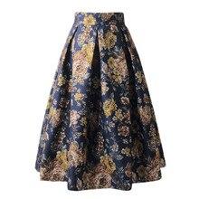Fashion high waist retro skirt new skirt Spodnica retro w wysokiej talii Nieuwe rok Gonna a vita alta moda retro#YL-25