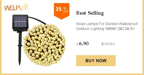 Lâmpada solar 5m 7m 12m estrela energia