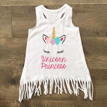 Unicorn Princess Sleeveless Sundress