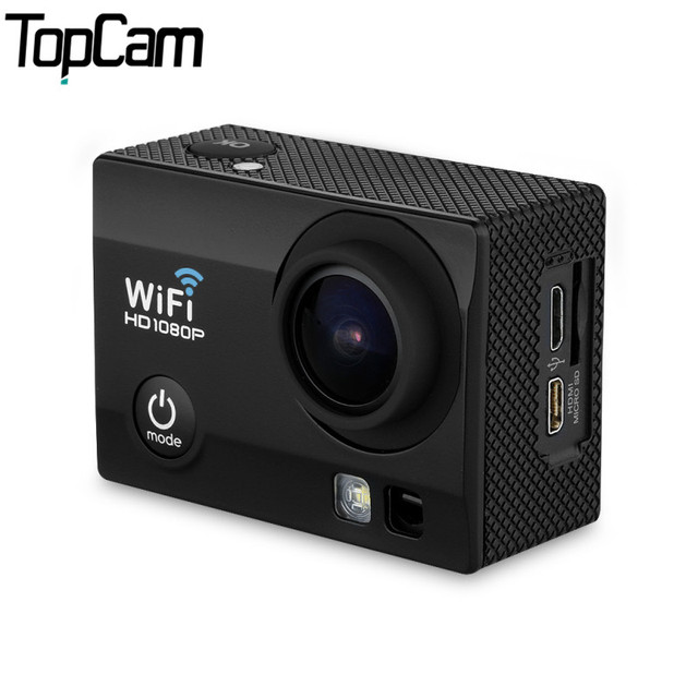 Q5 Sports Action Camera 2.0 Inch 30M Waterproof 12MP H.264 1080P Full HD Wi-Fi 170 degree angle view Night Vision Action camera
