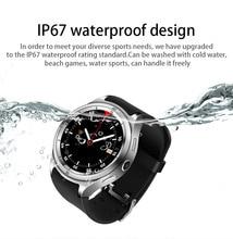 Smart watch F10 android5.1ROM16GB + RAM1G ip67 à prova d' água smart watch suporta SIM 3g wifi GPS freqüência cardíaca QQ WeChat 600 mah bateria