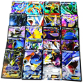 60 Pcs/Set carte Pokeballs Cards English Pokechu Ex Cards toys Mega pikachu Eevee Bulbasaur Squirtle Charmander Charizard