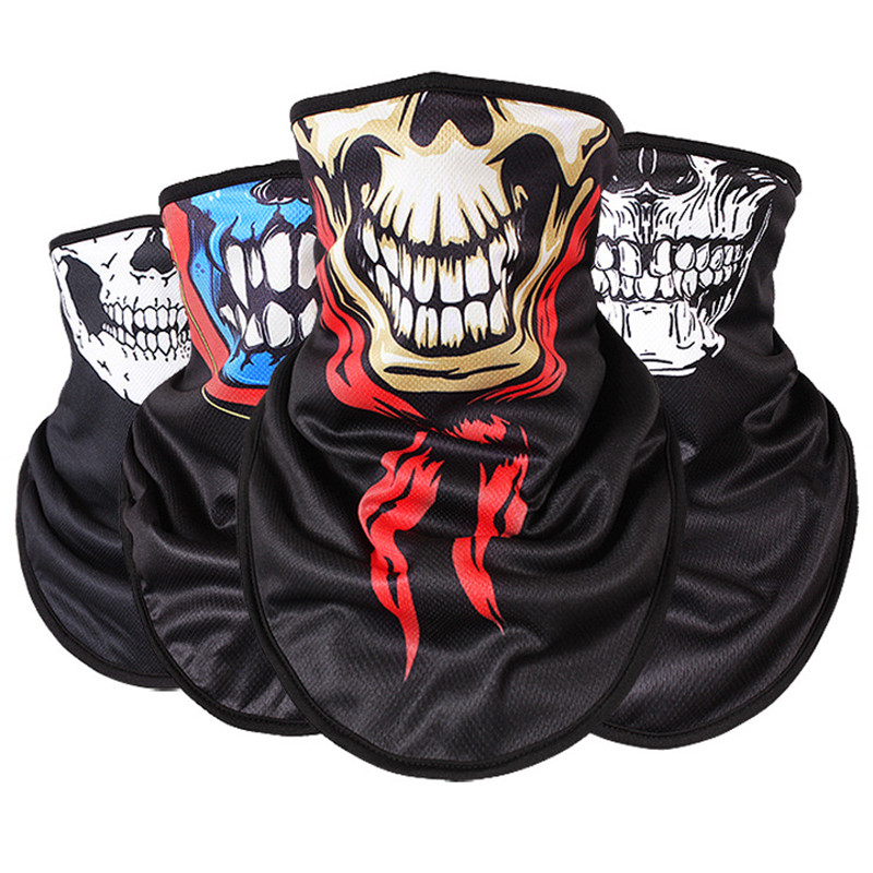 Q1005 Autumn winter warm ski mask skull outdoor riding windproof cold catch fleece trian ...