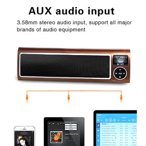 Image 5 - Portable Stereo Audio Memory SD Card Speaker Outdoor Speaker Radio Cycling HiFi Soundbar Caixa De Som Bass Sport Speakers