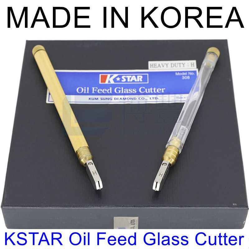 الأصلي KSTAR النفط تغذية الزجاج القاطع 310/310 H/308 H