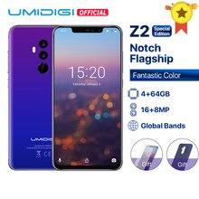 """UMIDIGI Z2 специальное издание Global Bands 6,"""" FHD+ полноэкранный Helio P23 4G+ 64 Гб F/8,1 Большая диафрагма Android 4G смартфон"""