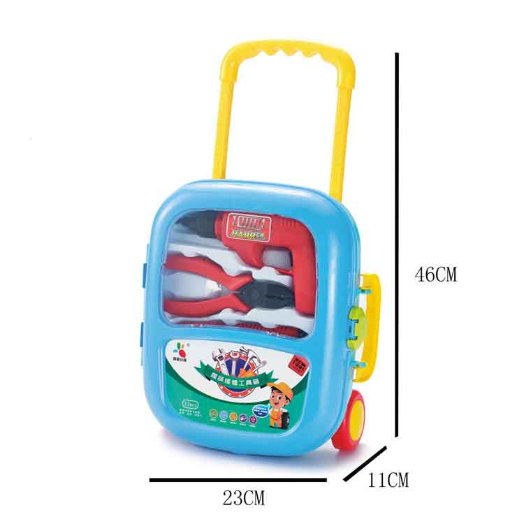 mylb Trolley case suitcase simulation Kids Toolbox set child toys for boys gift