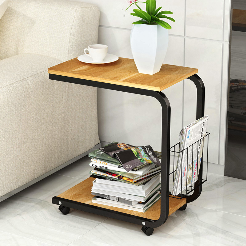 Us 54 8 Tea Table Side End For Office Coffee Magazine Shelf Small Movable Living Room Bedroom Furniture In Tables From