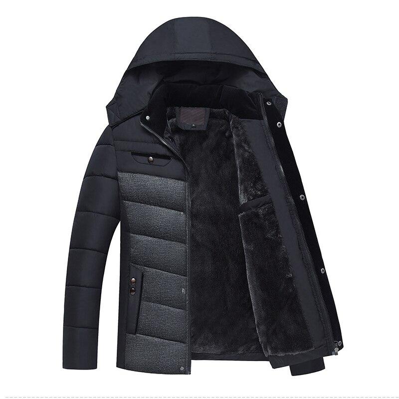 rembourré À 1 2018 Puls Veste Parka 4xl Coton Chaud Vestes Hommes Casual Hiver Capuchon Manteaux Nianjeep Outwear Taille Épaississent 2 1wUxTOqqF