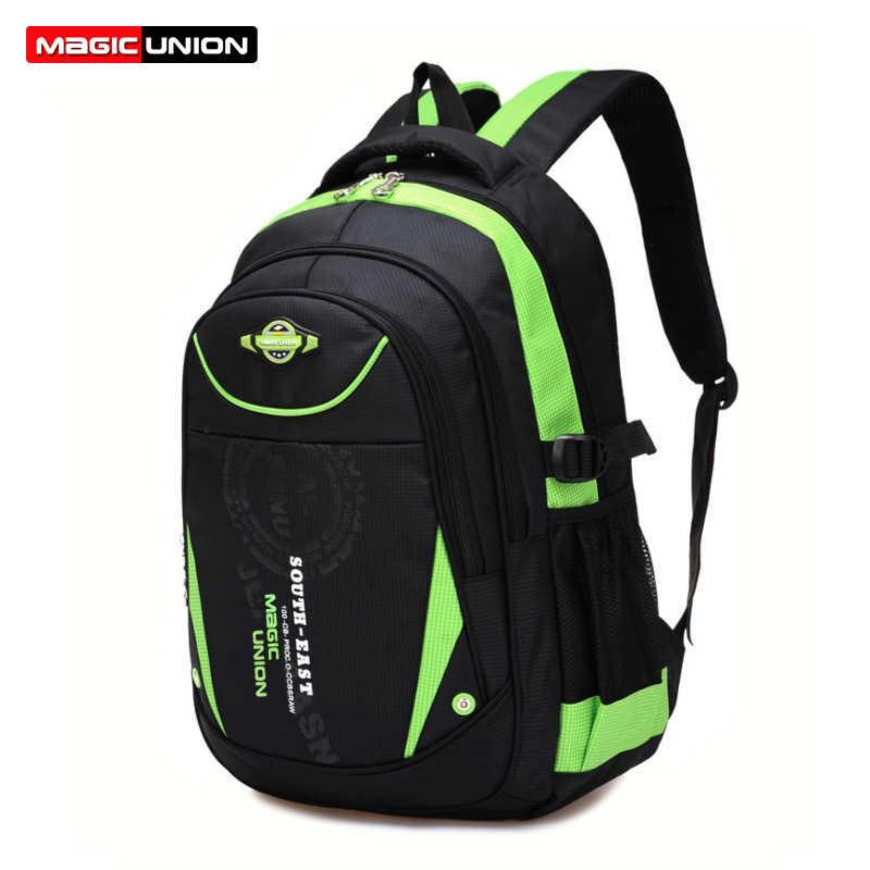 MAGIC UNION высококачественные школьные ранцы для мальчиков и девочек, детские рюкзаки, рюкзак для учеников начальной школы, водонепроницаемая школьная сумка, сумка для книг