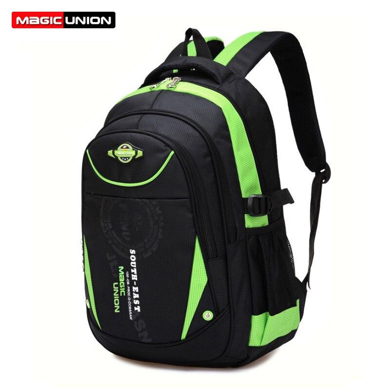 ensino primário mochila impermeável bolsa Composição : Oxford Cloteh