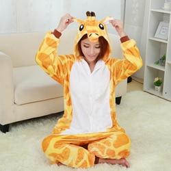 New giraffe pajamas for women nightgown pajama adult pajama one piece polyester pajamas pyjamas.jpg 250x250