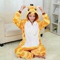Nova Girafa Pijamas Para As Mulheres Camisola Pijama Adulto Pijama One Piece Poliéster Pijama Pijama