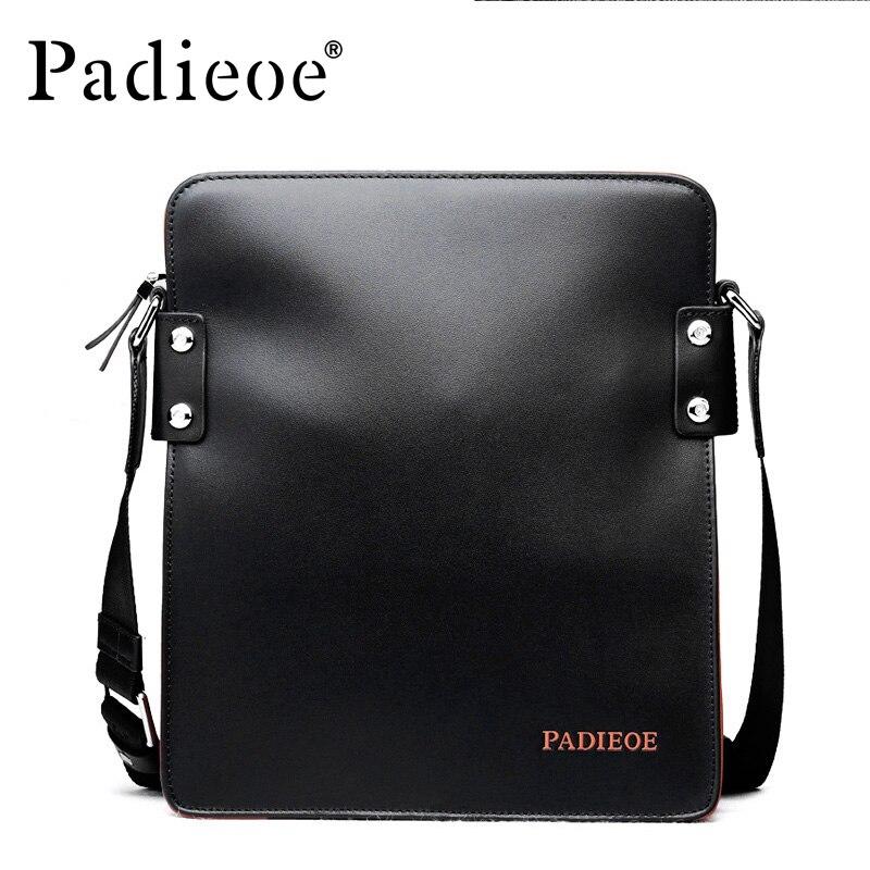e88327557b92 Brand Padieoe Handbag Men Briefcase Fashion Shoulder Bags Business ...