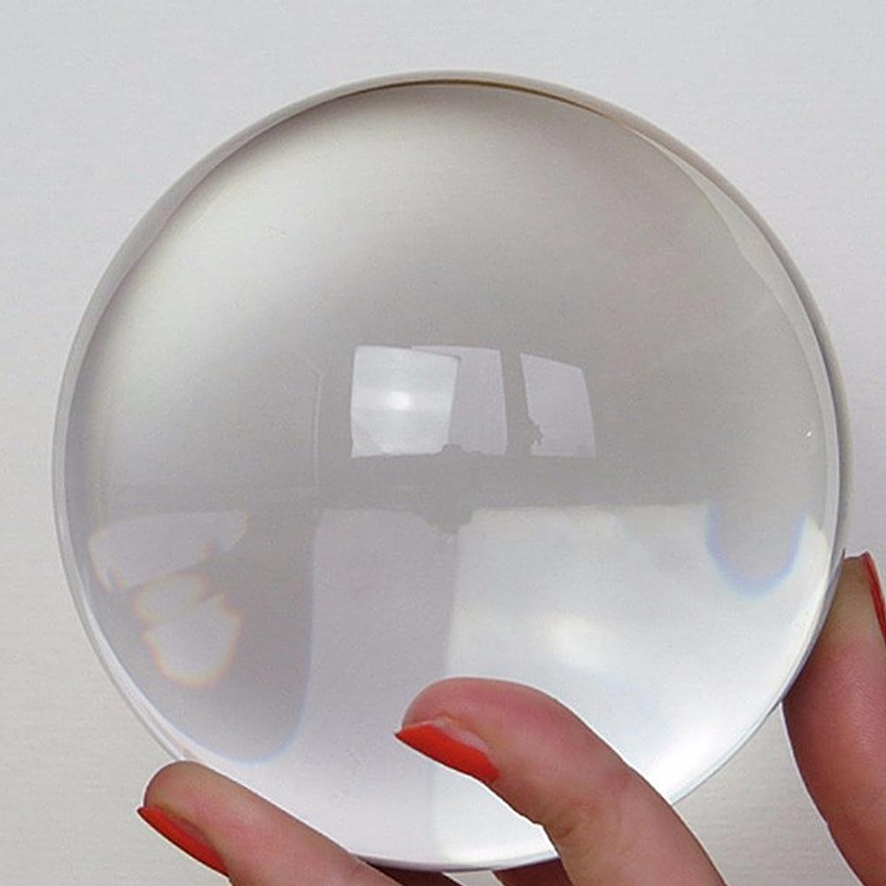 30mm 40mm Clear Crystal Ball Glass Ball Ornaments Home DIY Crafts Decorative Balls Decor