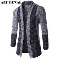 Ark Royal Sweatshirts Slim Fit Tops New Men S Fashion Spell Color Cardigan Hoodies Casual Cotton