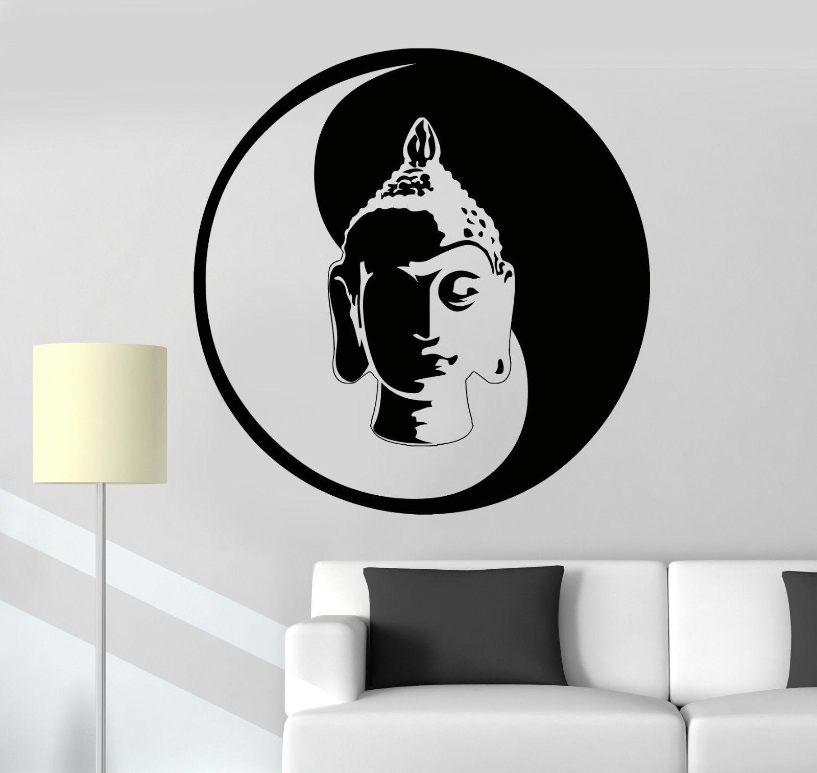 Online Get Cheap Buddha Zen Wall Decals Aliexpresscom Alibaba - Zen wall decals