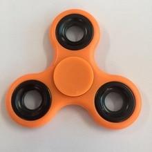 купить Multi Color Finger Fidget Spinner Plastic EDC Hand Triangle Gyro For Autism/ADHD Anxiety Stress Relief Focus Toys Gift по цене 158.27 рублей