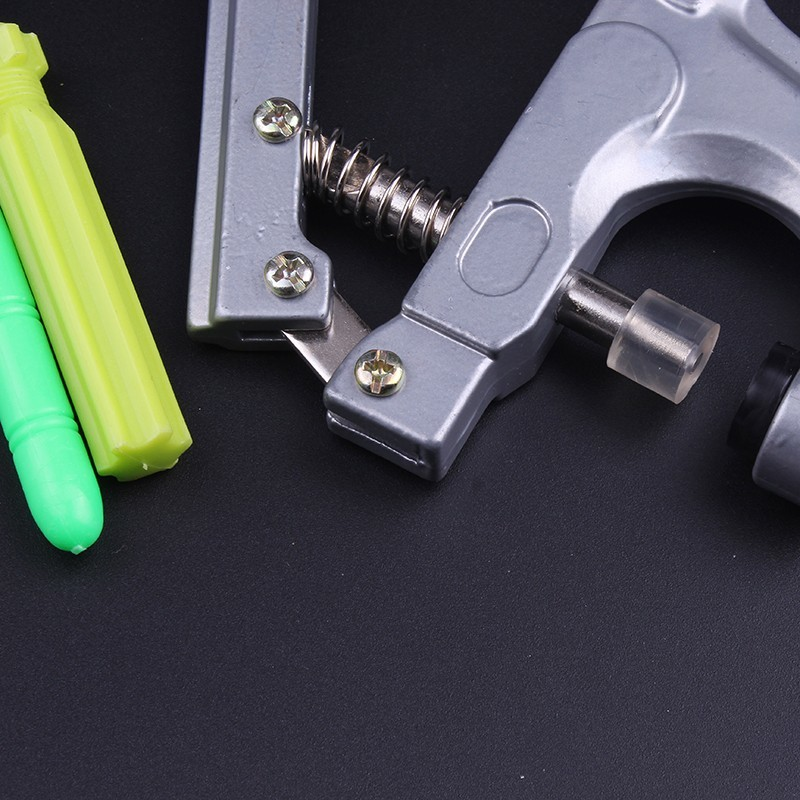 Pulaqi 1 Set Metal Press Pliers Tools Used for T3 T5 T8 Kam Button Fastener Snap Pliers 8pcs Labor Saving Button Tools H