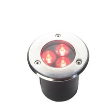 LED IP67 1/3W Waterproof Floor Light Underground Outdoor Ground Garden Path Buried Yard Spot Landscape Lighting