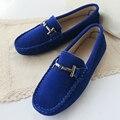 Весна Лето Высокое Качество женщины Мокасины Обувь 100% Из Натуральной Кожи женщины Плоские Обувь Повседневная Квартиры Мокасины Поскользнуться На обувь для Вождения