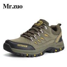 Men's Hiking Shoes Brand Winter Sneakers Men 2017 Outdoor Sports Hunting Climbing Shoes Waterproof Trekking boots Big Sizes