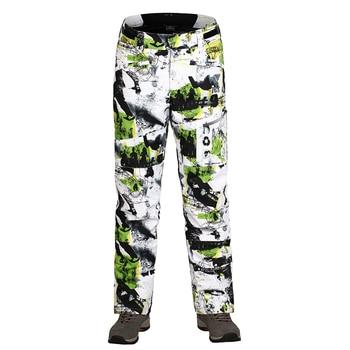 Ski Pants Men Waterproof  Pants For Snowboarding Trousers Outdoor Super Warm 10K windproof Skiing Pants