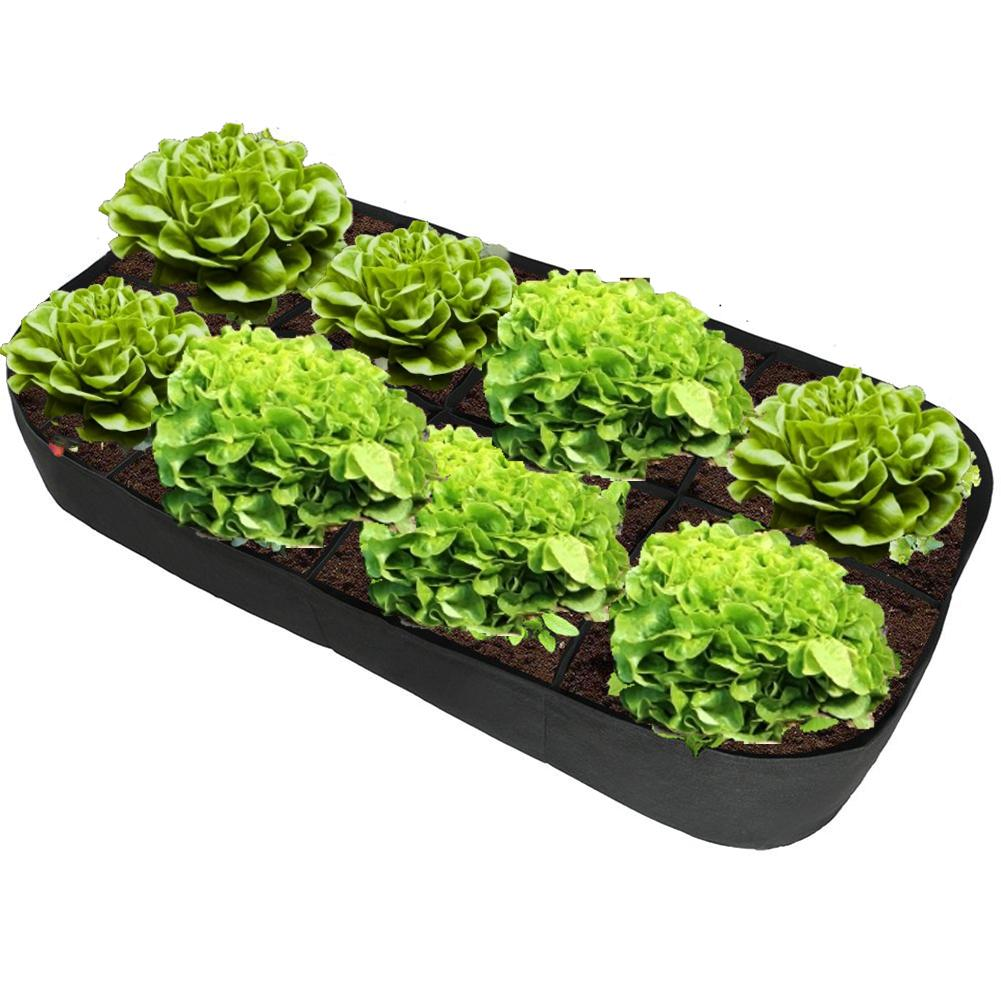 Garden Pots Planters Farm Garden Supplies Felt Planting Bag Multiport Garden Flower Vegetable Planting Bag Cultivation
