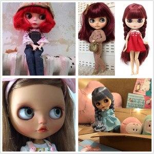 Image 5 - Dbs bjd fábrica blyth gelo boneca nude corpo comum moda boneca personalizada adequado diy maquiagem com conjunto de mão a & b preço especial