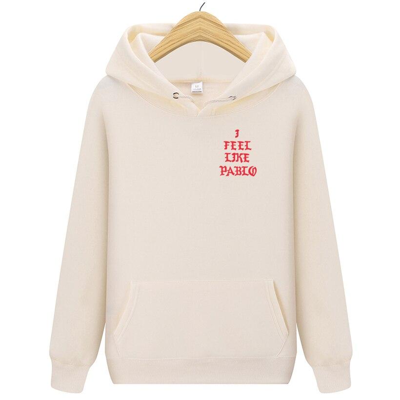 maglione Sfondamento Annotare  Kanye West Pablo Mi SENTO COME Ye Mens Hoodie Hip Hop Tuta Felpe Tirare Mi  Sento Come Paul Con Cappuccio Da Uomo donne|Felpe e maglioni| - AliExpress