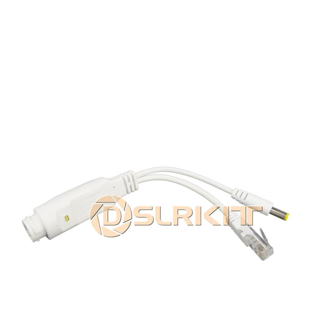 DSLRKIT 9 Ports 8 PoE Kit (Switch + PoE Splitter) 18V-55V to 12V DC Buck converter 5