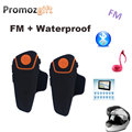 2PCS BT 3.0 BT-S2 1000M 30M IPX7 Waterproof Moto Helmet Bluetooth Headset Motorcycle bluetooth intercom for motorcycle with FM