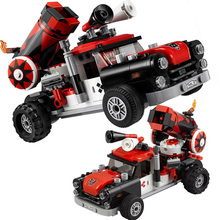 2018 New Marvel Batman Avengers 3 LEPIN 07097 Building Blocks Compatible LegoINGly 70921 Harley Quinn Cannonball Attack Sets