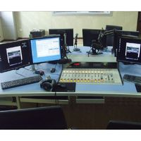 Radio Digital Broadcast Live Studio System Equipments Complete Set