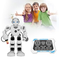 Christmas Halloween K1 Intelligent Alpha Robot Smart Programming Humanoid Robots Toys Demo Singing Dancing Kids Educational