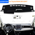 2016 Car Styling Sombra Protectora Dashboard Mat Cojín Pad Photophobism Alfombra Interior Para Toyota Nuevo RAV4 2013-2017