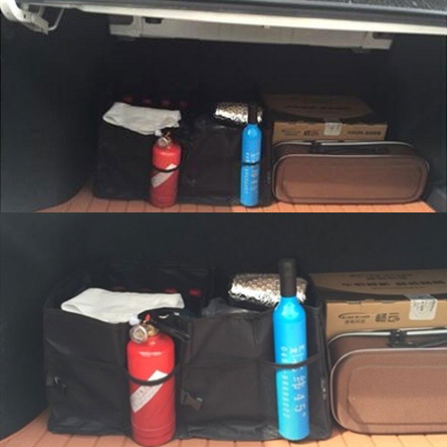 Auto višenamjenski auto stražnji prtljažnik SUV Cargo Organizator - Dodaci za unutrašnjost automobila - Foto 6