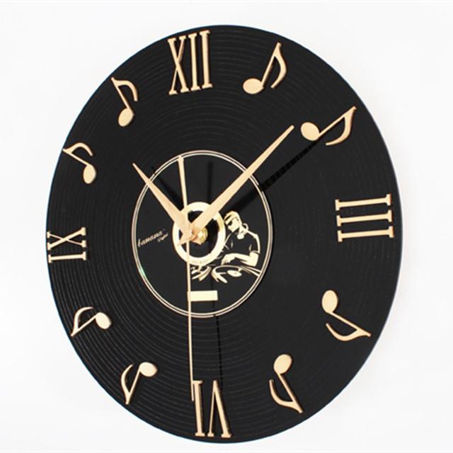 Saat Clock Reloj Wall Clock Duvar Saati Relogio de parede Horloge Murale Wall Watch Klok Orologio da parete Discography clocks