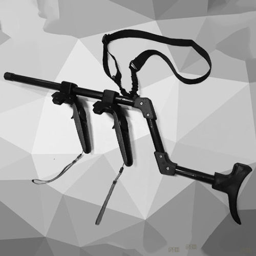 Game Accessaries VR Game Shooting Gun Double Handle For HTC Vive