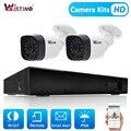 Wistino 1080P CCTV Security System Kit 2 stücke IP Kamera Kugel Outdoor 8CH NVR H.265 Überwachung Monitor Kits IR nacht Vision 1MP-in Überwachungskameras aus Sicherheit und Schutz bei