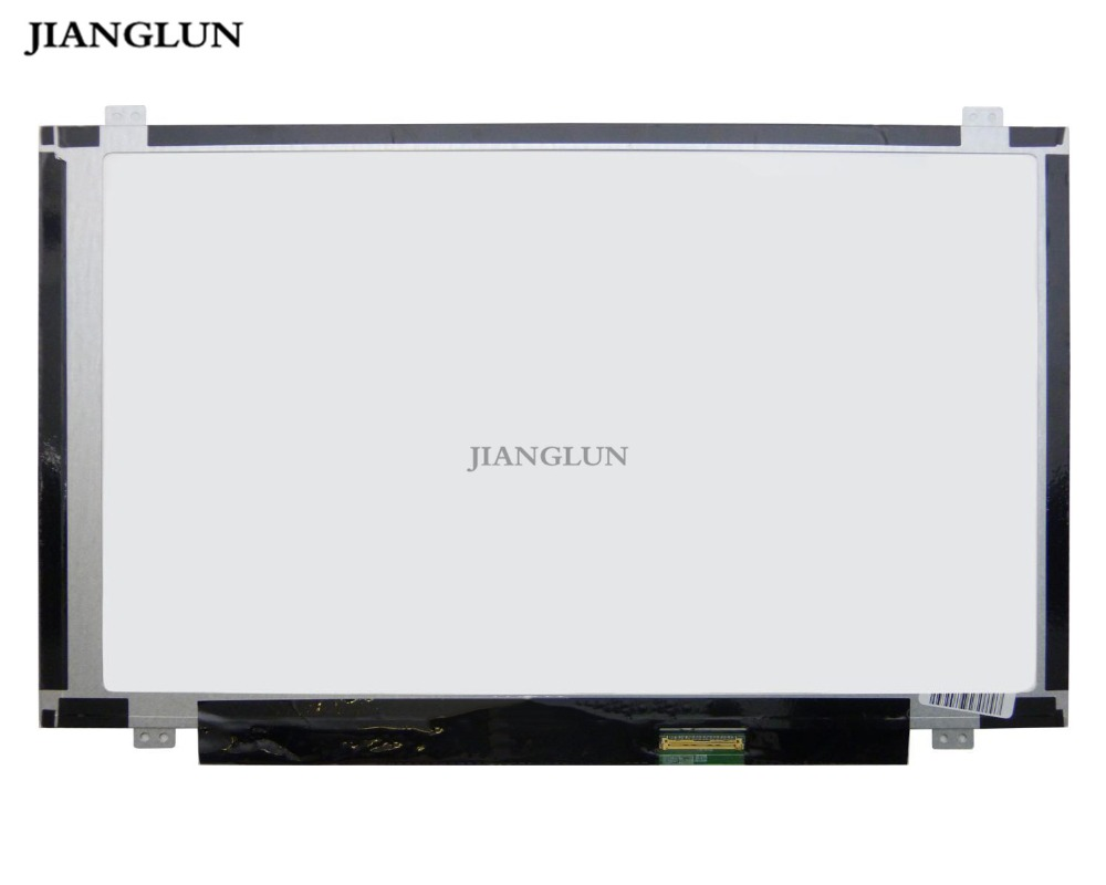JIANGLUN New For HB140WX1-400 LCD Display Screen 14 HD 1366x768 LED 40pin 14 0 lcd laptop screen boe hb140wx1 601 hb140wx1 led panel for new 14 wxga hd display matte