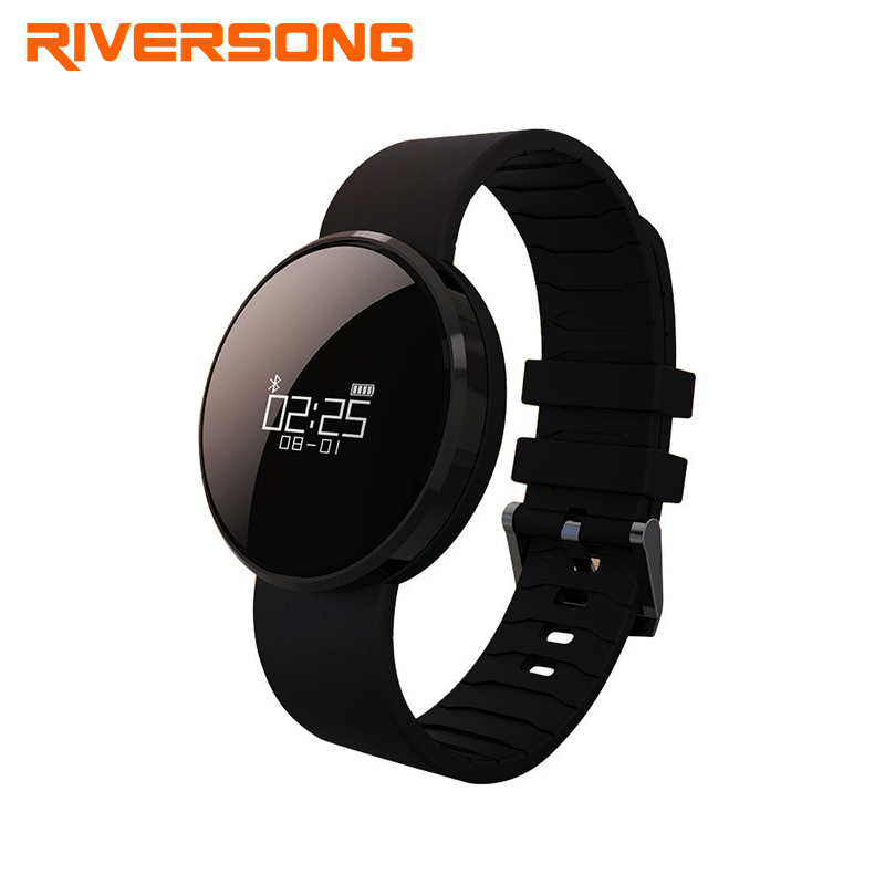 RIVERSONG Shine BP Smartwatch Fitness Tracker Heart Rate Monitor Pedometer Bluetooth Smart Watch Sleep Monitor for Android & IOS lemfo dm360 smart watch wearable devices bluetooth smartwatch heart rate monitor pedometer fitness tracker for ios android hot