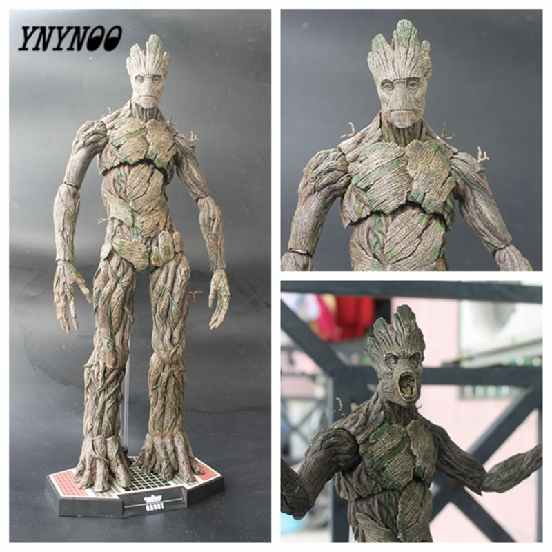 цены  YNYNOO Hot Toys Guardians of the Galaxy 1/6 Scale PVC Action Figure Collectible Model Toy 15