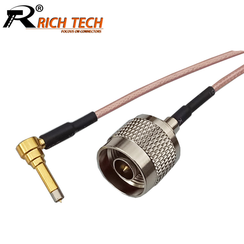 RG316 N FLANGE FEMALE to MS-156 MALE ANGLE Coaxial RF Cable USA-US